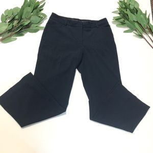 Apostrophe || Navy Blue Straight Leg Dress Pants